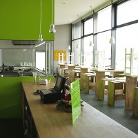 Freshman Meitingen, Neubau Systemgastronomie