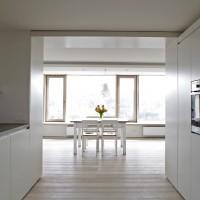 ausgebaute DG-Wohnung in einem ehemaligen Brauhaus, Lichtenberg/Oberfranken