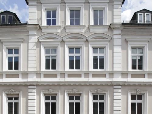 Villa Weiss Helmbrechts, Fassade