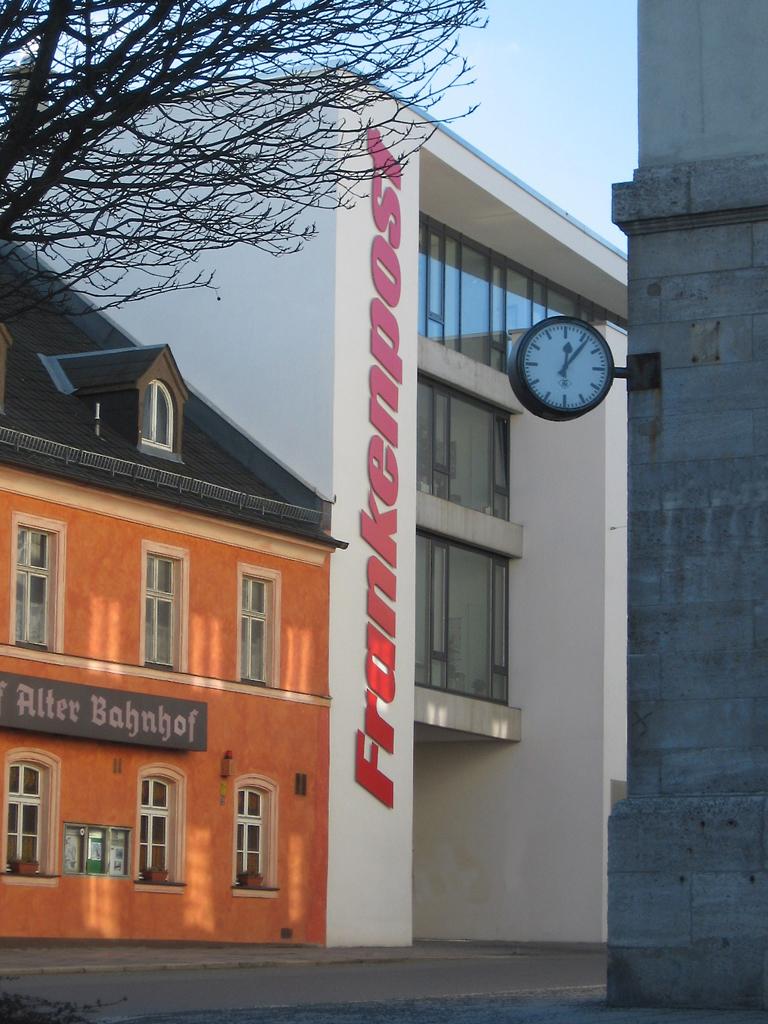 Frankenpost Hof - Hüttner Architekten