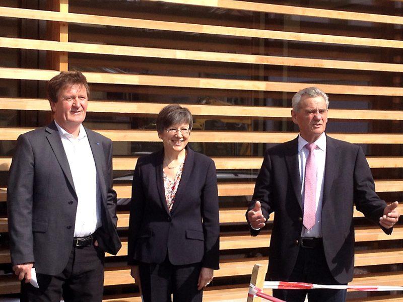 Offizielle Eröffnung der Scheune Rudolph in Mitwitz